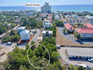 Beach access is right down the street from the Cottages at Seagrove.