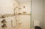 Spa shower with thermostatic control