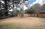 Park-like backyard
