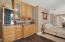 Small kitchenette located in the master bedroom.