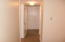 Hallway to other bedrooms and baths