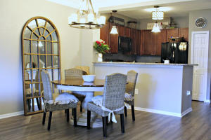 Updated throughout, quiet gated community with pool centrally located in Panama City/Lynn Haven area.