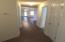 4 Bedrooms/3 baths, wood laminate floors in hallways & living area