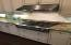 Gas Cooktop with Stainless High Efficiency Hood Vent System