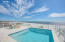 Private heated Pool located on the 2nd Level with coastal views east to west....