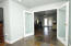 2nd Floor Master, leading into small living/office area