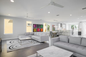 The Open Concept Living Level