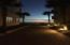 A walk to the beach at night