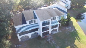 Drone view of end unit (left)