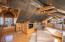 Parquet flooring, sitting area
