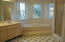 Master Bath Garden Tub and Separate Tiled Walk-in Shower