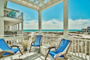 Expansive views from every level of this exquisite Beach Front home in Grayton Beach.