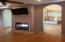 Bonus Room - Fireplace / TV