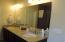 Master Bathroom with comfort height double sink vanity