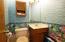 Half Bath off Florida Room
