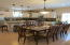 Large Dining area to handle a bid family or friends