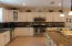 Spacious kitchen for several cooks at a time