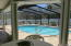 View looking at length of pool