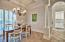 Formal Dining Room Adjacent from Kitchen
