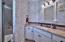 Spacious Glass Enclosed Walk-in Shower