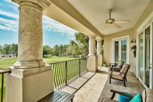 Large Balcony with access from Living, Master, and 2nd Bedroom
