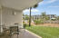 Covered porch with easy access to the community pool and Gulf access.