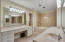 One section of master bath