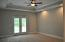 High Box ceilings in the Master Bedroom. PHOTOS ARE OF PREVIOUS HOME/SAME PLAN