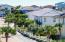 Luxury homes line the private streets of this gulf side gated community