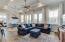 Hardwood floors, 10' ceilings, tray ceilings