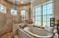 Soaker tub and large shower