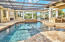 Outdoor oasis with sparkling pool , jacuzzi, summer kitchen and plenty of space to entertain