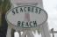 Seacrest Beach on 30A at the HUGE white lifeguard chair. Between Rosemary Beach and Alys Beach.