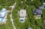 Aerial view of home proximity to neighbors.