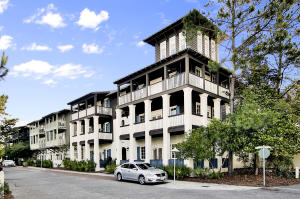 Best Flat building in Rosemary which includes hallway bunks and this unit has a great wrap around porch.
