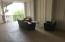 Exterior lounge area