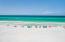 Beach at end of private beach boardwalk