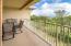 Large main level balcony