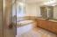 First level master bathroom