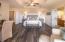 Masterfully furnished second level master bedroom.