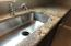 Granite Countertops, Stainless Sink