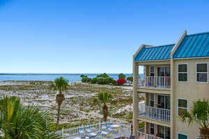 Balcony Views of the Pass and Gulf front Beach