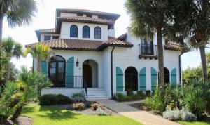 Hard to find a home on 30A that offers as much as this one--top quality space inside and out with deeded beach access.
