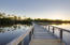 A private boardwalk leads over one of the beautiful Coastal Dune Lakes, Deer Lake to provide access to the beach.