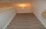 Carpeted stairway