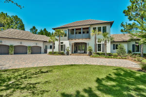 The most architecturally significant home in Burnt Pine on one of the best lots