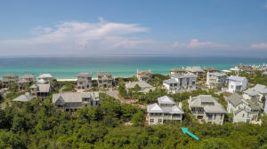 The Retreat is a gated community in Blue Mountain Beach south of 30A bordered by conservation, Draper Lake and the Gulf of Mexico to the west, north and south.