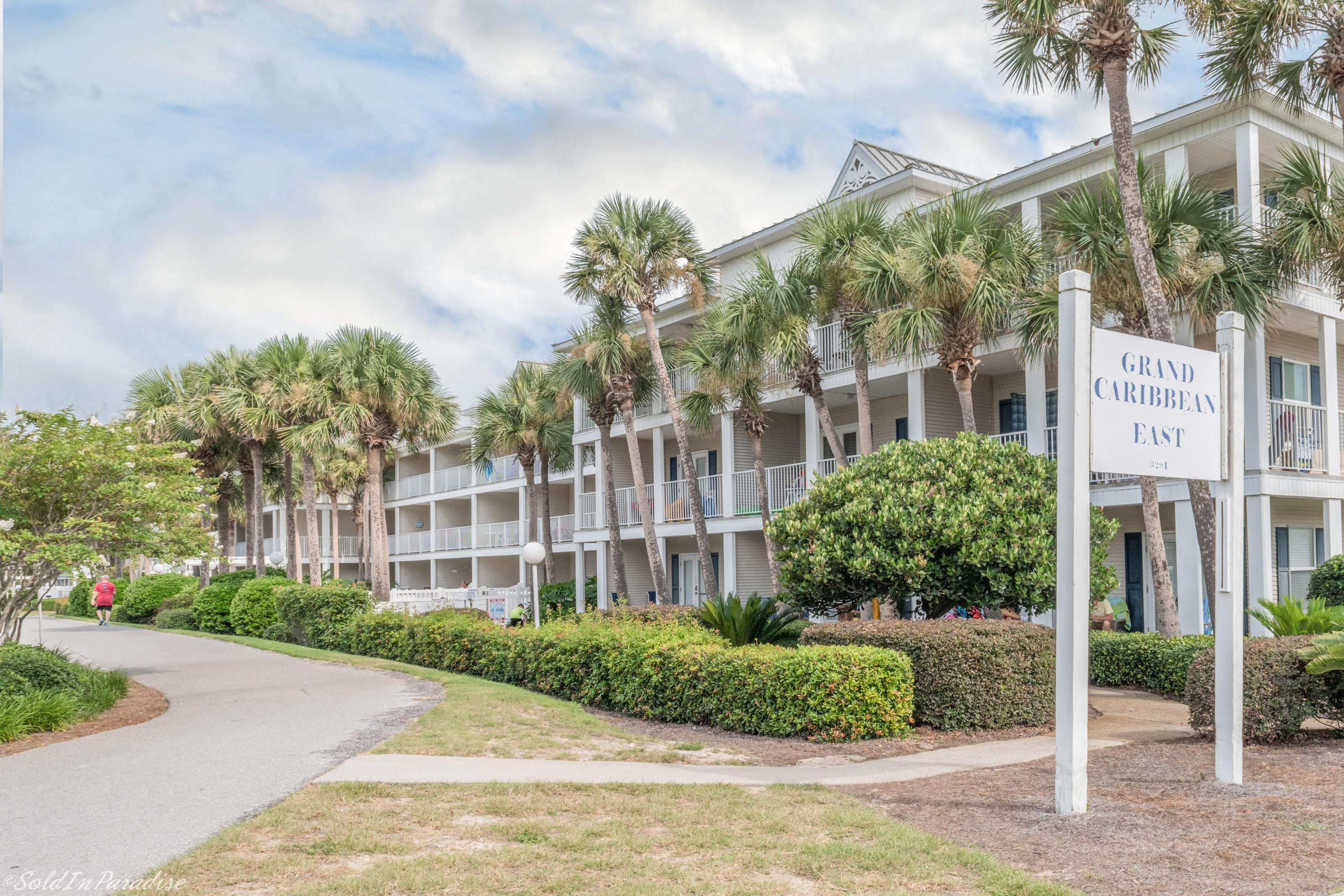 This first floor unit is located in Grand Caribbean East - a three-story property settled in the quiet and desirable Crystal Beach area of Destin. This upgraded one bedroom one bath unit features tile flooring throughout, built-in hallway bunks, open main living areas, and sizeable patio with direct pool access - the perfect place to take in the salty sea breeze. Additional amenities include well-kept grounds, grilling and picnic area, and large private parking lot. The beaches and beautiful emerald green waters of the Gulf are easily accessed by two dedicated walkways directly across the street. Grand Caribbean East is also within minutes of the many great shopping and restaurants Destin has to offer. Simply paradise. 2018 Gross Rental Income: $22,036.
