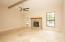 Greatroom with Travertine Flooring