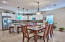 Large dining area to accommodate large family gatherings